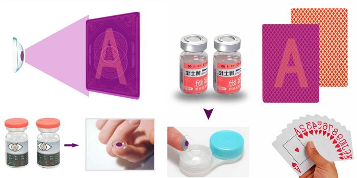 контактные линзы для распознавания крапленых карт